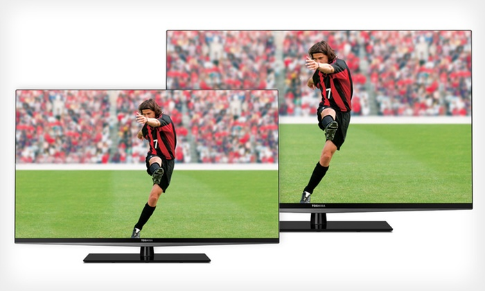 "Toshiba 47"" and 55"" LED 3-D, 120Hz, Smart HDTVs: 47"" or 55"" Toshiba 120Hz Smart 3-D LED HDTV (Up to 52% Off). Free Shipping and Free Returns."
