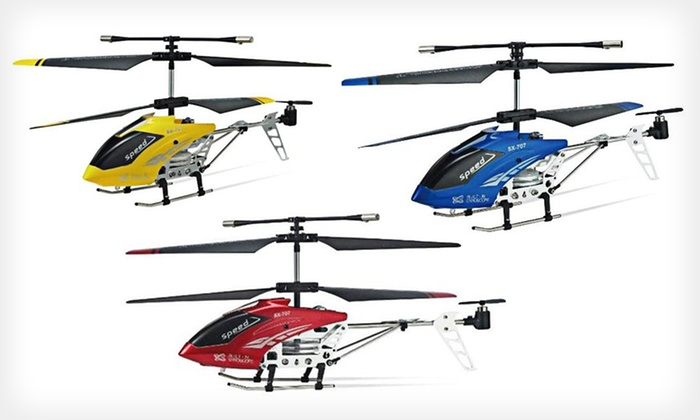 MicroGear Remote-Controlled Helicopter: $25 for a MicroGear Remote-Controlled Helicopter ($69.99 List Price). Three Colors Available. Free Shipping.