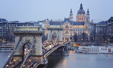 ✈ Prague and Berlin or Budapest: 4 or 6 Nights at Choice of Hotels with Return Flights and Transfers*