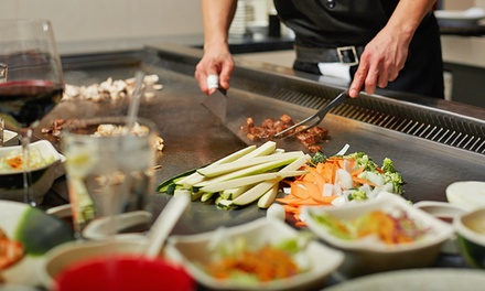 Hibachi Meals or Japanese Food at Bushido Japanese Restaurant (Up to $31 Off). Three Options Available.