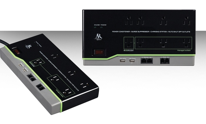 Acoustic Research Surge Protectors with USB Ports: Acoustic Research 6- or 8-Outlet Surge Protectors with USB Portsfrom $29.99—$34.99. Free Shipping and Returns.
