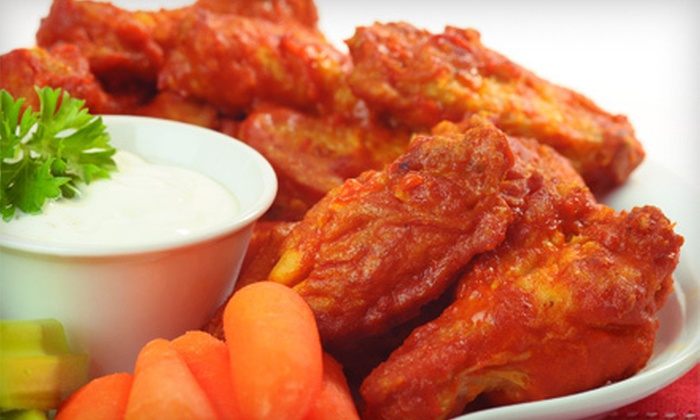 Legends Pub & Restaurant - Vancouver: Wings for Two with Veggie Plate or $10 for $20 Worth of Pub Fare at Legends Pub & Restaurant in Richmond