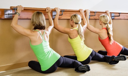 One Month of Fitness Classes or Five Barre Classes at The Dailey Method (Up 73% Off)