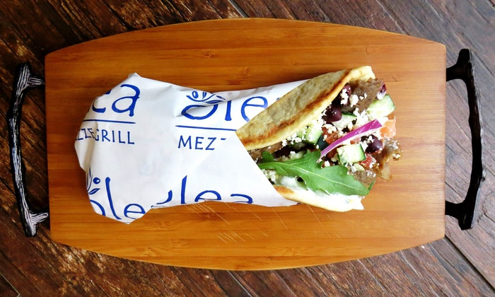 Olea Mezze Grill - Maitland: Casual Mediterranean Food at Olea Mezze Grill (50% Off). Two Options Available.