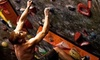 Hangar 18 - Multiple Locations: Indoor Rock Climbing at Hangar 18 Indoor Climbing Gyms (Up to 58% Off). Three Options Available.