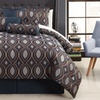 Luna 12-Piece Jacquard Comforter Set