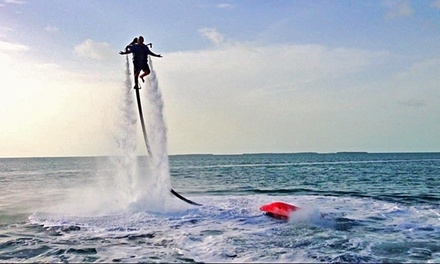 Flyboard or Water-Powered Jetpack Adventure for One or Two at Florida Keys Jetpacks (Up to 60% Off)