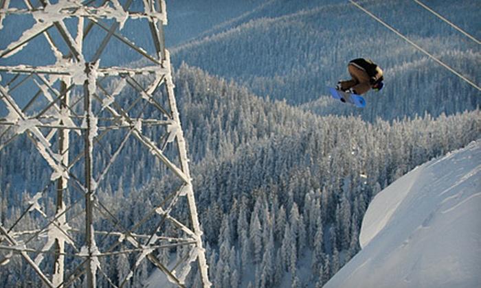 Stevens Pass Snowboard Shop - Gold Bar: $17 for a Full Ski or Snowboard Tune-Up at Stevens Pass Snowboard Shop ($35 Value)