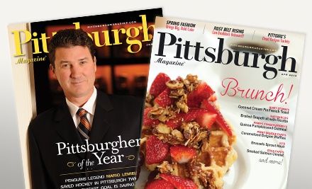 "groupon daily deal - One- or Two-Year Subscription with City Guides from ""Pittsburgh Magazine"" (Up to 52% Off)"
