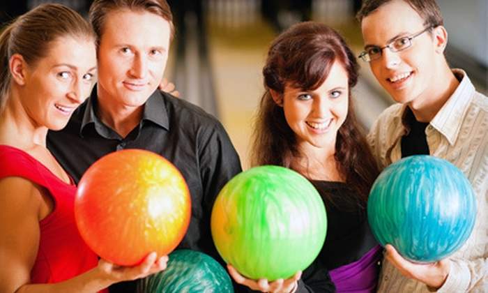 Galaxie Bowling - Gatineau: One or Two Hours of Bowling for Up to Six with Shoe Rentals at Galaxie Bowling (51% Off)