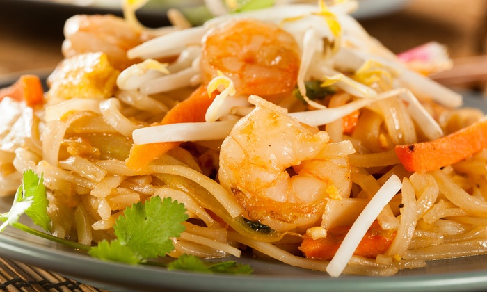 Mango Thai Restaurant - Isle Of Normandy Ocean Side: $34 for Four-Course Thai Dinner for Two at Mango Thai Restaurant