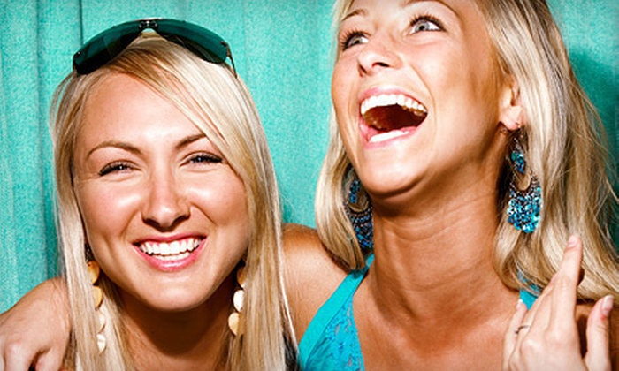 Injoy Media Productions - Houston: $499 for a Five-Hour Photo-Booth Rental with Attendant and Unlimited Prints from Injoy Media Productions ($1,000 Value)