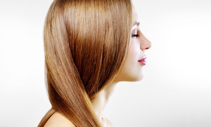 Salon Papillon: Haircut Packages With Optional Partial or Full Highlights at Salon Papillon (Up to 56% Off)