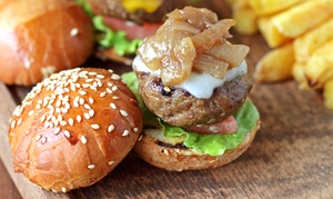 Patty Wagon: Burgers and Fries for Dine-In or Take-Out at Patty Wagon (Up to 45% Off)
