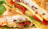 Free Press Bistro - Downtown: C$11 for C$20 Worth of Paninis, Pasta, and Salads at The Free Press Bistro