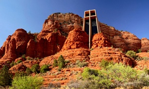Arizona Tour & Travel: All-Day Sedona Red Rock Tour for Two or Four with Optional Jeep Ride from Arizona Tour & Travel (Up to 55% Off)