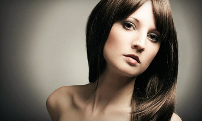 La Paz Salon - Montgomery: Cut and Conditioning with Optional Partial or Full Highlights, or Keratin Treatment at La Paz Salon (Up to 60% Off)