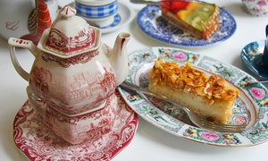 Summerhouse bakery: Vintage Afternoon Tea For Two from £10 at Summerhouse Bakery