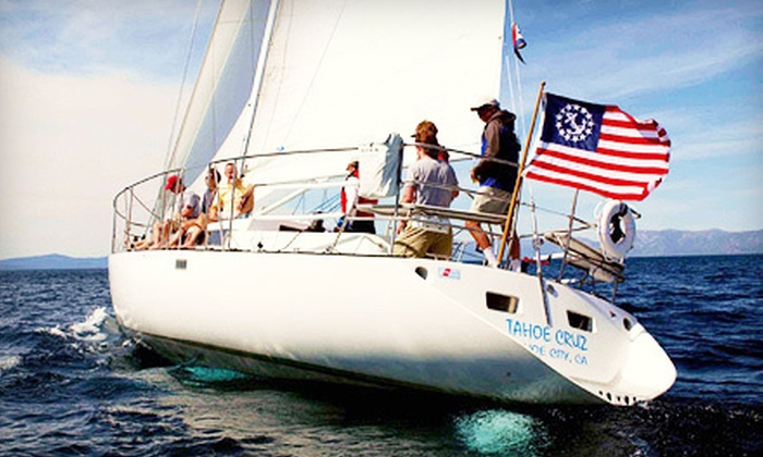 Tahoe Sailing Charters - Downtown Tahoe City: $59 for a Two-Hour Sailboat Cruise for Two from Tahoe Sailing Charters in Tahoe City (Up to $120 Value)