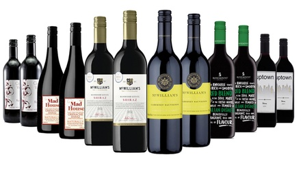 Free Shipping: $69 for a 12Bottle New Year Red, White or Mixed Wine Case, Including FiveStar Wineries Don't Pay $189