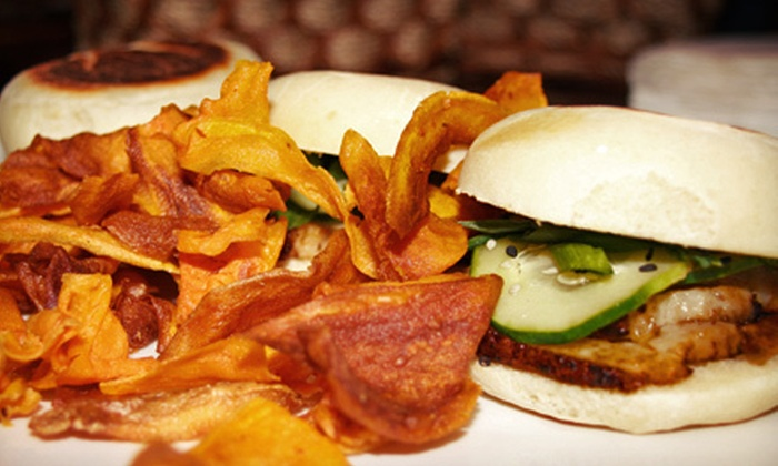 The Iron Frog Tavern - Simsbury Center: Upscale Pub Fare at The Iron Frog Tavern (Up to 52% Off). Two Options Available.