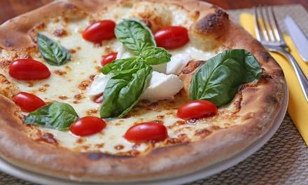 Menu pizza con birra alla spina per 2 o 4 persone da Legna&Brace (sconto fino a 66%)