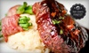 Bijou Restaurant & Bar - Old Owner - Downtown Hayward: Three-Course Prix Fixe French-Fusion Dinner with Champagne for Two or Four at Bijou Restaurant & Bar (Up to 70% Off)