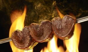 Rodizio Grill Voorhees: Brazilian Churrasco Dinner for Two or Four at Rodizio Grill Voorhees (Up to 38% Off). Four Options Available.
