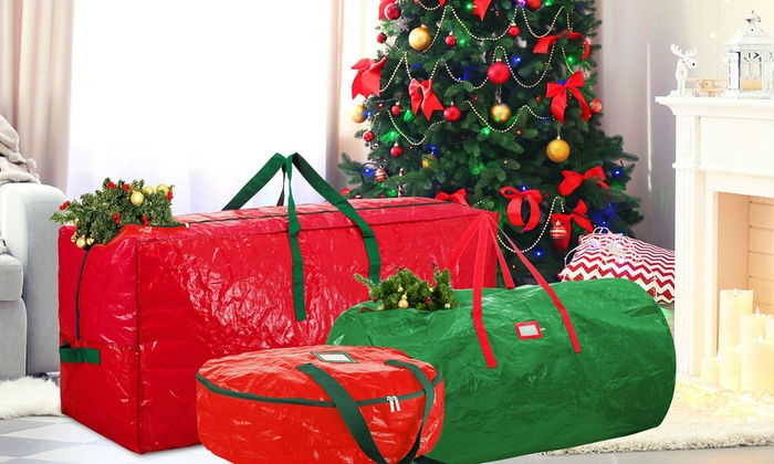Holiday Storage Bags for Christmas Trees and Wreaths | Groupon