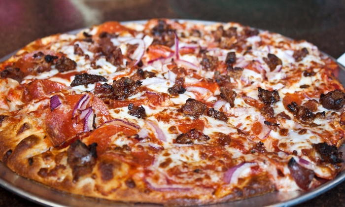 Palio's Pizza Cafe - Rockwall: $15 for $30 Worth of Pizza and Pasta at Palio's Pizza Café