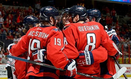 Washington Capitals Game with T-Shirt at Verizon Center on October 16 or November 4 (Up to 38% Off)