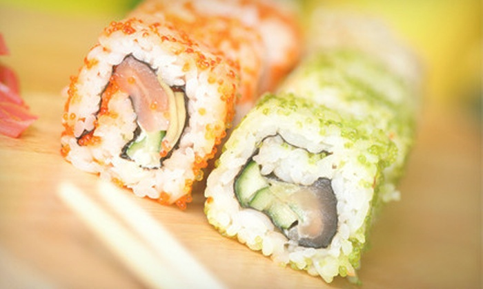 Hamachi Restaurant  Lounge - Downtown Walnut Creek: Japanese and Sushi Lunch or Dinner for Two at Hamachi Restaurant Lounge (45% Off)