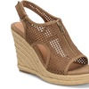 EuroSoft Padma Women's Suede Jute-Wrapped Wedge Sandals