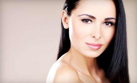 Gloss Treatment with Full Color or Color Retouch, or One Haircut at AQC Beauty + Salon (Up to 53% Off)