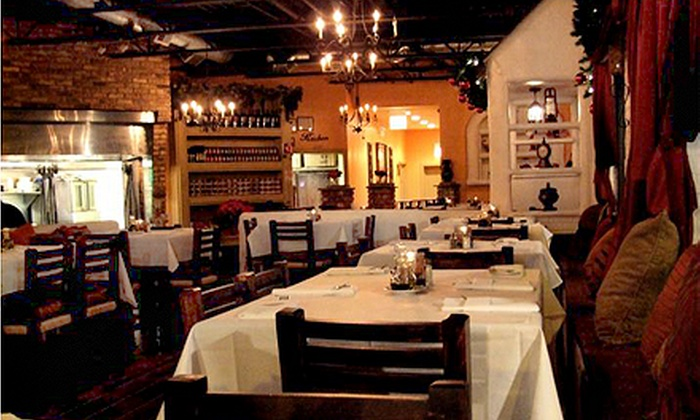 Melanthios Greek Char House - Lakeview: $22 for $40 Worth of Southern Greek Food, Steaks, and Drinks for Dinner at Melanthios Greek Char House
