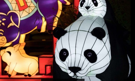 The Giant Lanterns of China, 1–14 December at Edinburgh Zoo