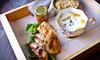 Hillbilly Tea - Central Business District: Organic Teas and Appalachian-Inspired Fare for Dinner or for Breakfast, Lunch, or Brunch at Hillbilly Tea (Up to 52% Off)