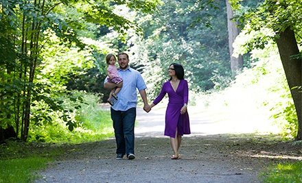 60- or 90-Minute On-Location Photo Shoot with Digital Images from LimeStarPhoto (Up to 62% Off)