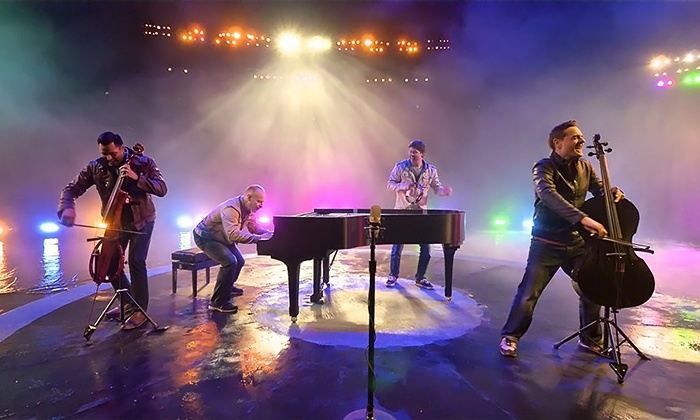 """The Piano Guys """"A Family Christmas"""" - Palace Theatre: The Piano Guys – """"A Family Christmas"""" at Palace Theatre on December 8 at 7:30 p.m. (Up to 43% Off)"""
