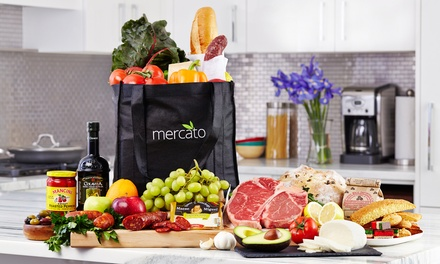 $15 for $40 Value Towards Grocery Delivery from Mercato