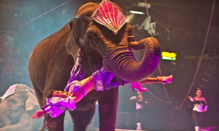 Jordan World Circus - Pan American Center: Jordan World Circus Show for Child, Adult, or Family at Pan American Center on September 30 at 7 p.m. (Up to 52% Off)