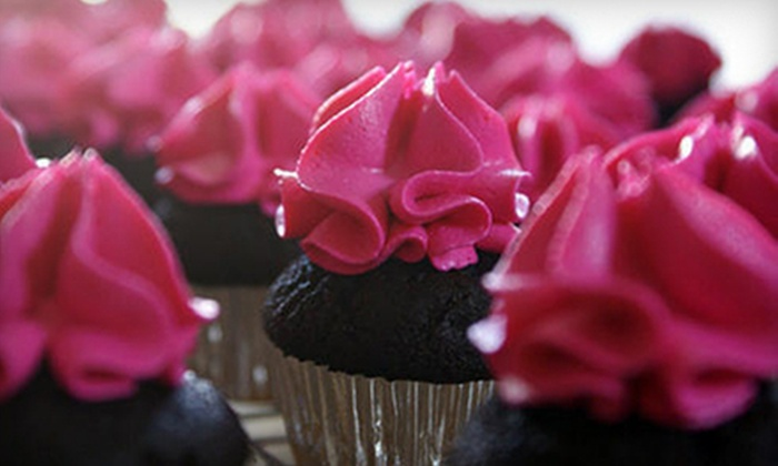 Chocolate Girl Cupcakes - Fayetteville: One or Two Dozen Cupcakes from Chocolate Girl Cupcakes (Up to 65% Off)