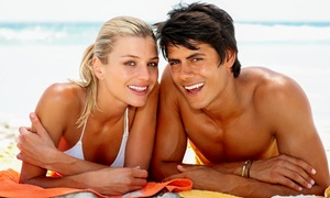 Glow on the Go: One or Three Mobile Spray-Tanning Sessions from Glow on the Go (Up to 59% Off)