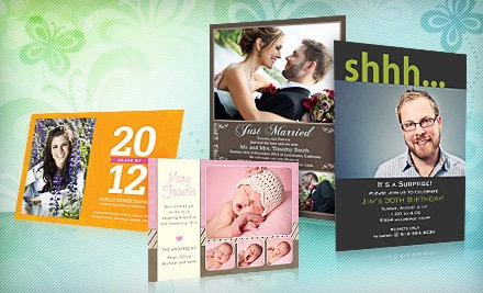 $30 Worth of Customized Photo Cards, Invitations, and Announcements - PhotoAffections.com in