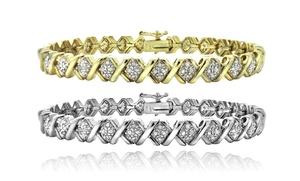 1.00 CTTW Diamond Bracelet
