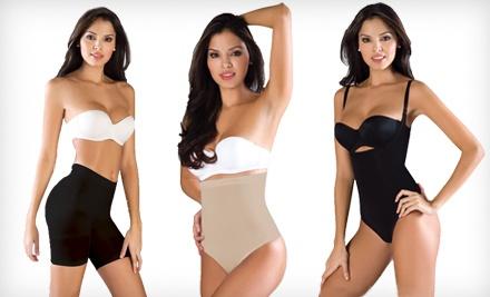 Women's Shapewear Short: Nude, Medium (a $35 value) - Hourglass Angel in