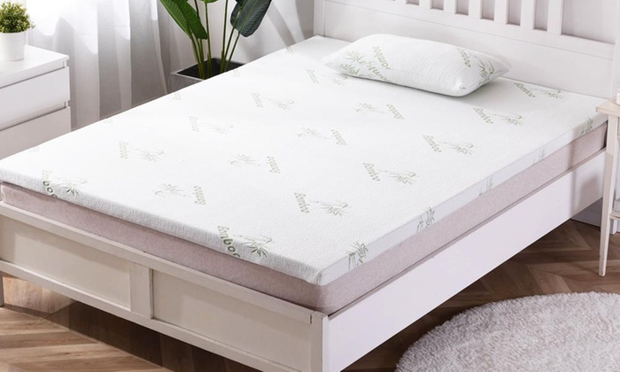 Dickens 2.5cm or 5cm Bamboo Memory Foam Mattress Topper from £34.99
