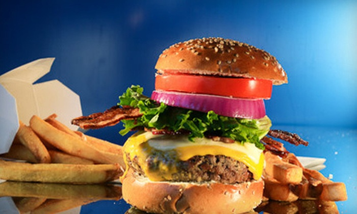 BGR The Burger Joint - Memphis: $7 for $14 Worth of Burgers at BGR The Burger Joint