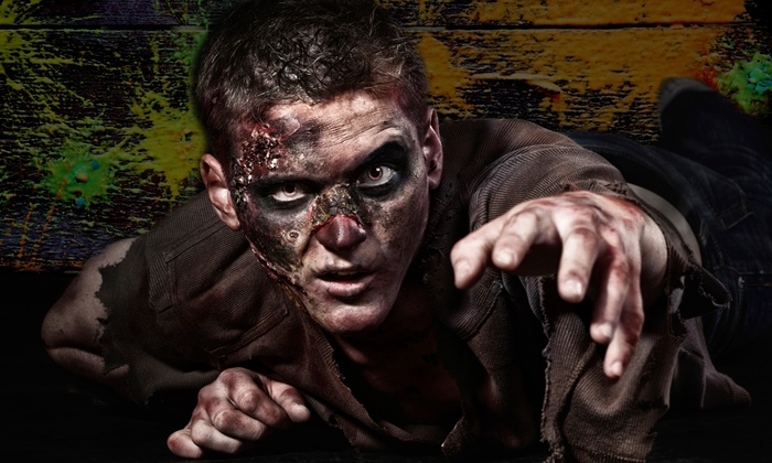 Green Hand Farm Park - Abingdon: Zombie Survival Course Paintball Adventure for Two, Four, or Six at Green Hand Farm Park (Up to 54% Off)