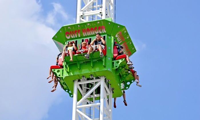 Cliff's Amusement Park - Friedman - Gage: All-Day Rides for Two with an Optional $25 Fun Card at Cliff's Amusement Park (52% Off)